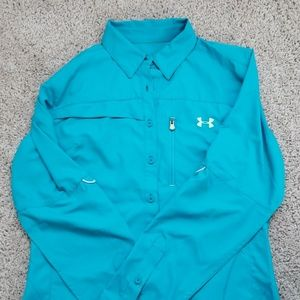 Under Armour fishing shirt